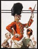 Joseph C. Leyendecker (American, 1874-1951), Drum Major
