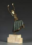 Dimitri Chiparus (1886-1947) Art Deco Dancer