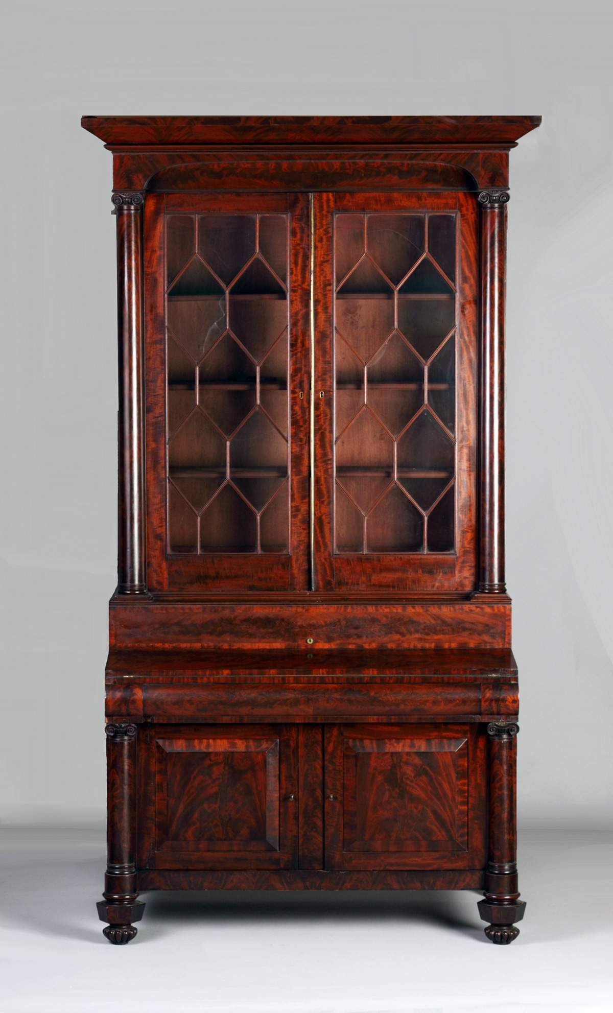 A pair of American Classical Mahogany Side Chairs, circa 1835 ...