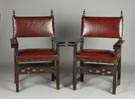 Pair of Spanish Colonial Chairs