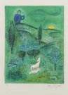 Marc Chagall (French, 1887-1985), Lamon Discovers Daphnis, from Daphnis and Chloé (M. 309; C. bk. 46), 1961