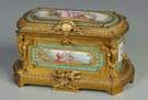 Fine Sevres Jewelry Casket