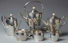 Arthur Stone Sterling Silver 6 Pc. Tea & Coffee Set