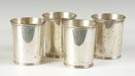 4 Sterling Silver Julep Cups