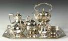 International Sterling Silver 6-Pc. Tea Set w/Matching Tray