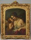 19th Cent. O/C of Cupid & Psyche