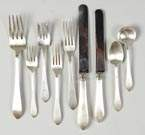 Tiffany Sterling Silver Flatware Set