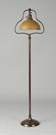 Handel Floor Lamp w/Cased Chipped Ice Shade