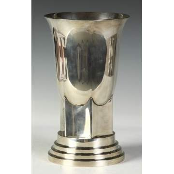 Hogson Kennard & Co. 1920's Sterling Vase