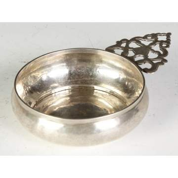 Early Silver Porringer