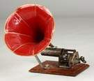 "Unusual European ""Openworks"" Cylinder Phonograph"