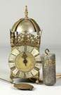 Early 1 Hand Brass Lantern Clock