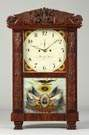 Fine and Rare Lucius Bradley, Watertown, CT, Shelf Clock