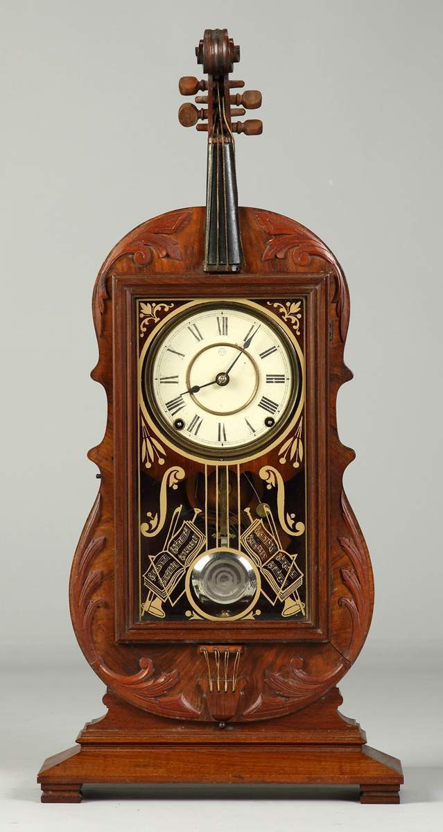dating seth thomas antique clocks Rare antique seth thomas violin clock: late 19th century carved walnut case in the form of a violin, reverse gilt painted glass door case marked on back with stenciled number 5881k, interior paper label, original strings on 4 feet.
