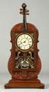 Fine and Rare Seth Thomas Violin Clock