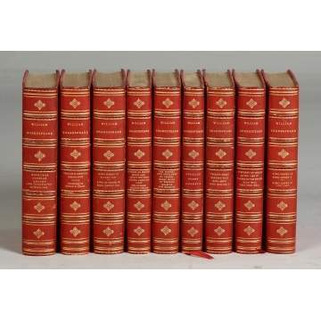 9 Shakespeare Books, All by Hacon Ricketts