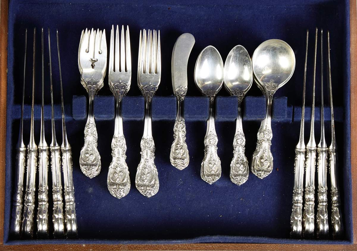Reed Amp Barton Sterling Silver Flatware Francis I Pattern