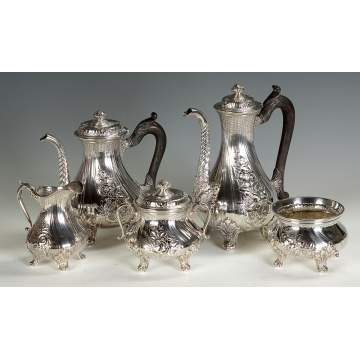 Gorham Sterling Silver 5-Pc. Tea Set
