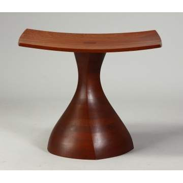 Wendell Castle (b. 1932) Walnut Side Table