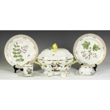 Group of Royal Copenhagen, Herend & Sevres