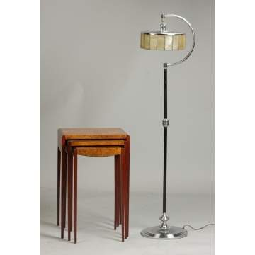 Nesting Tables & Floor Lamp