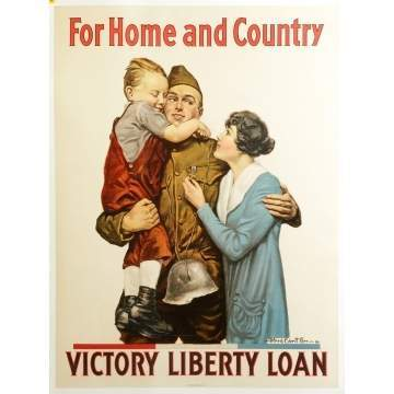For Home & Country, Victory Liberty Loan Poster