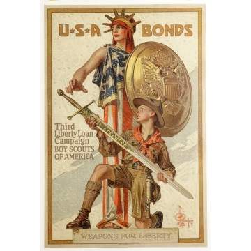 3 WWI Posters
