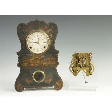 Waterbury, CT, Brass Clock Movement