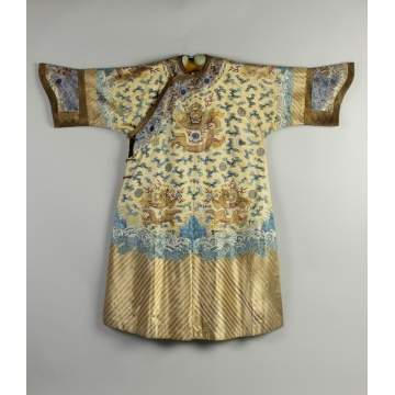Fine Chinese Imperial Silk Court Robe