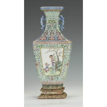 Chinese Porcelain Famille Decorated Vase