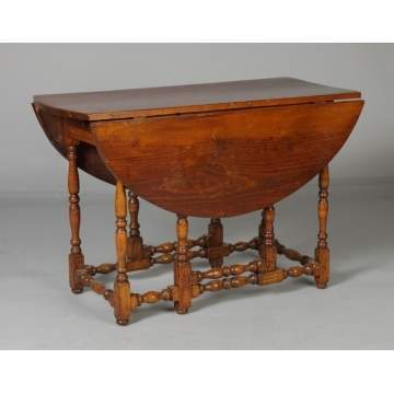 Early New England Gate Leg Table