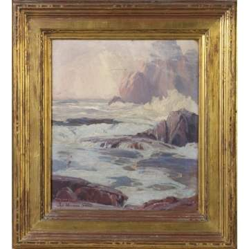 Jack Wilkinson Smith (American, 1873-1949) Seascape