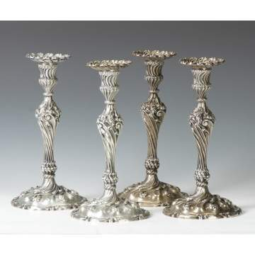 Howard & Co. NY, 1896, #110 Sterling Silver Candlesticks