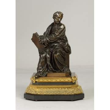 Jean Francois Deniere (French, 1774-1866) Bronze Scholar