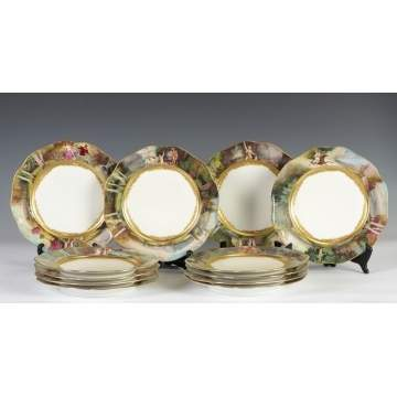 Set of 12 Dresden Plates