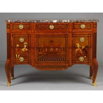 French Inlaid Chest of Drawers