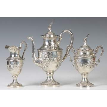 Jacobi & Jenkins Sterling Silver 3-Pc. Tea Set
