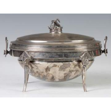 Gorham Sterling Silver Oyster Tureen