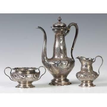 Gorham 3-Pc. Sterling Silver Tea Set