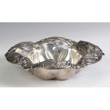 Whiting Sterling Silver Center Bowl