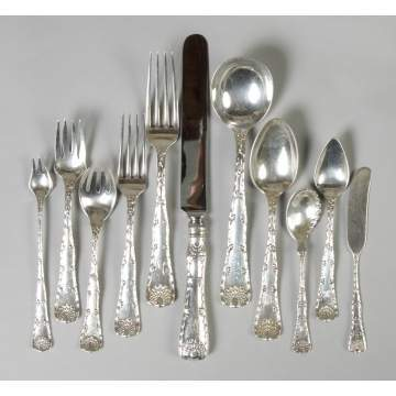Tiffany & Co. Sterling Silver Flatware Set - Wave Edge
