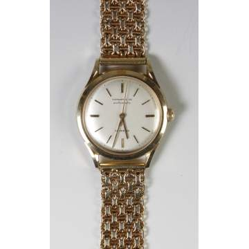 Tiffany & Co./Movado 14K Mens Wrist Watch
