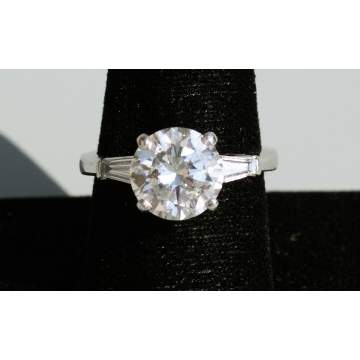 3.53 Carat Diamond Solitaire Ring