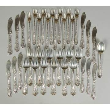 Dominick & Haff Sterling Silver Flatware