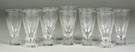 12 Sgn. Steuben Crystal Water Glasses