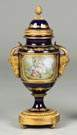 Sevres Hand Painted Covered Urn
