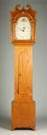 R. Whiting Pine Tall Case Clock