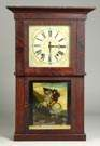 E.W. Adams, Seneca Falls, NY, Empire Shelf Clock