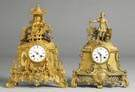 Gilt Bronze Shelf Clocks