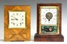 Art Deco Clock & Cottage Clock